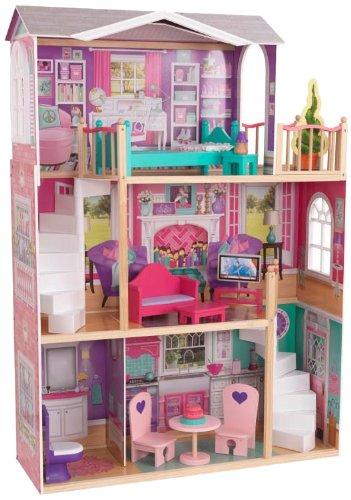 Kidkraft Puppenhaus Elegance für 46 cm Puppen - Puppenhaus für große Puppen