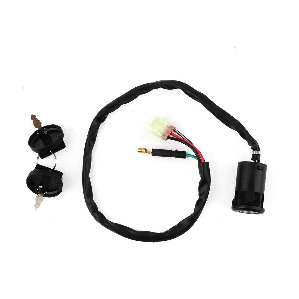 Ignition Key Switch For Honda 250 TRX250TE TRX250TM RECON 250 2002-2017 ATV NEW By Mopasen