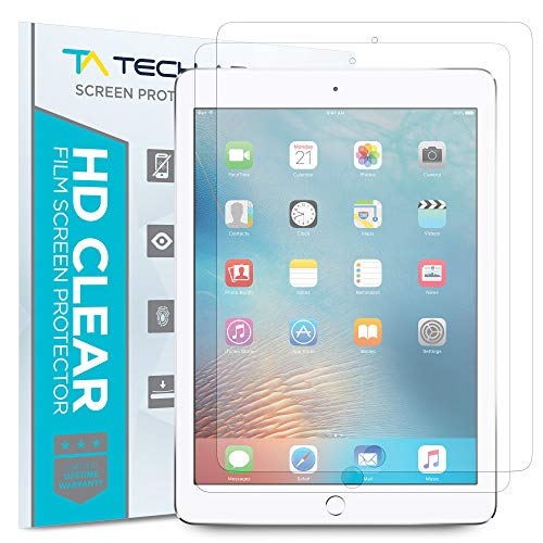 - Tech Armor Anti-Glare Film Screen Protector Designed for Apple iPad Mini 5 (2019), iPad Mini 4 [NOT Glass] - Case-Friendly, Full Coverage, Scratch Resistance [2-Pack]