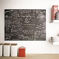 Adhesivo para pared con pizarra, diseño de pintura - Peel y ...