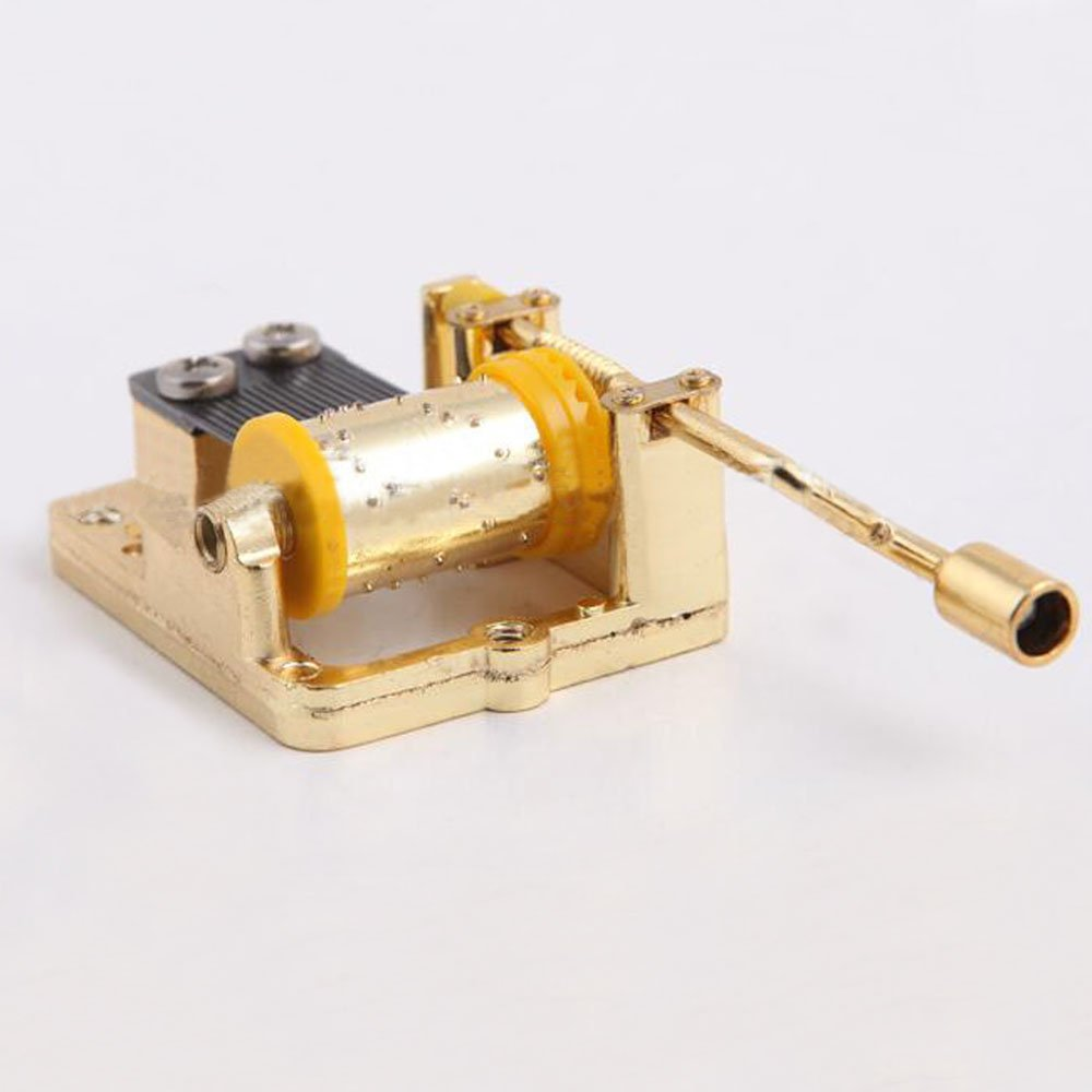 Let It Go Golden Clockwork music movement 18 Note Musical Mechanism Movement For DIY Music Box