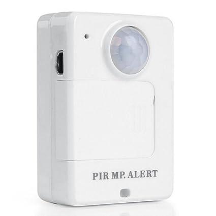 Mengshen® A9 Mini radio PIR MP. Alerta GSM con infrarrojos de la sonda inductiva