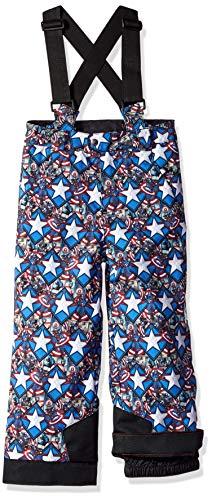 Spyder Boy's Mini Marvel Propulsion Ski Pant, French Blue/Captain, Size 3 ()