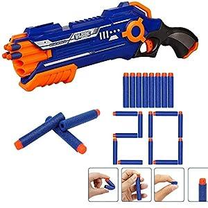 Toyshine Dual Foam Blaster Gun,...
