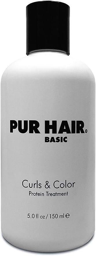 Tratamiento capilar para cabello decolorado y tratado químicamente Basic Protein Treatment de Pur Hair, 150 ml