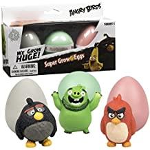Angry Birds Super Grow Eggs From the Classic Game - Hatch and Grow 3 Different Characters - (Series 1)