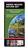 Sierra Nevada Nature Set: Field Guides to Wildlife, Birds, Trees & Wildflowers of Sierra Nevada