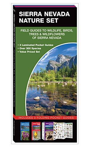 Sierra Nevada Nature Set: Field Guides to Wildlife, Birds, Trees & Wildflowers of Sierra Nevada