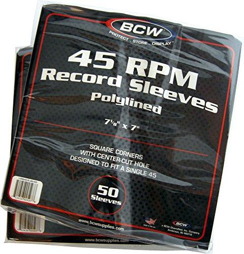 Pl 16 Plastic Liners - (100) BCW Brand 7