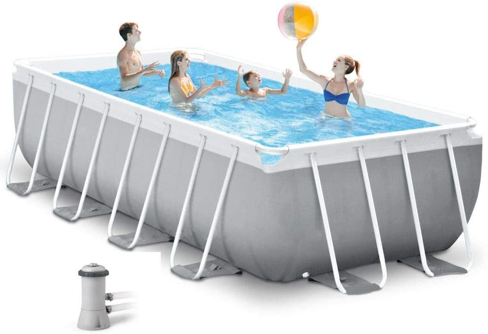 Durable tool Intex 26788 - Piscina (4 m x 2 m x 1 m, Marco ...