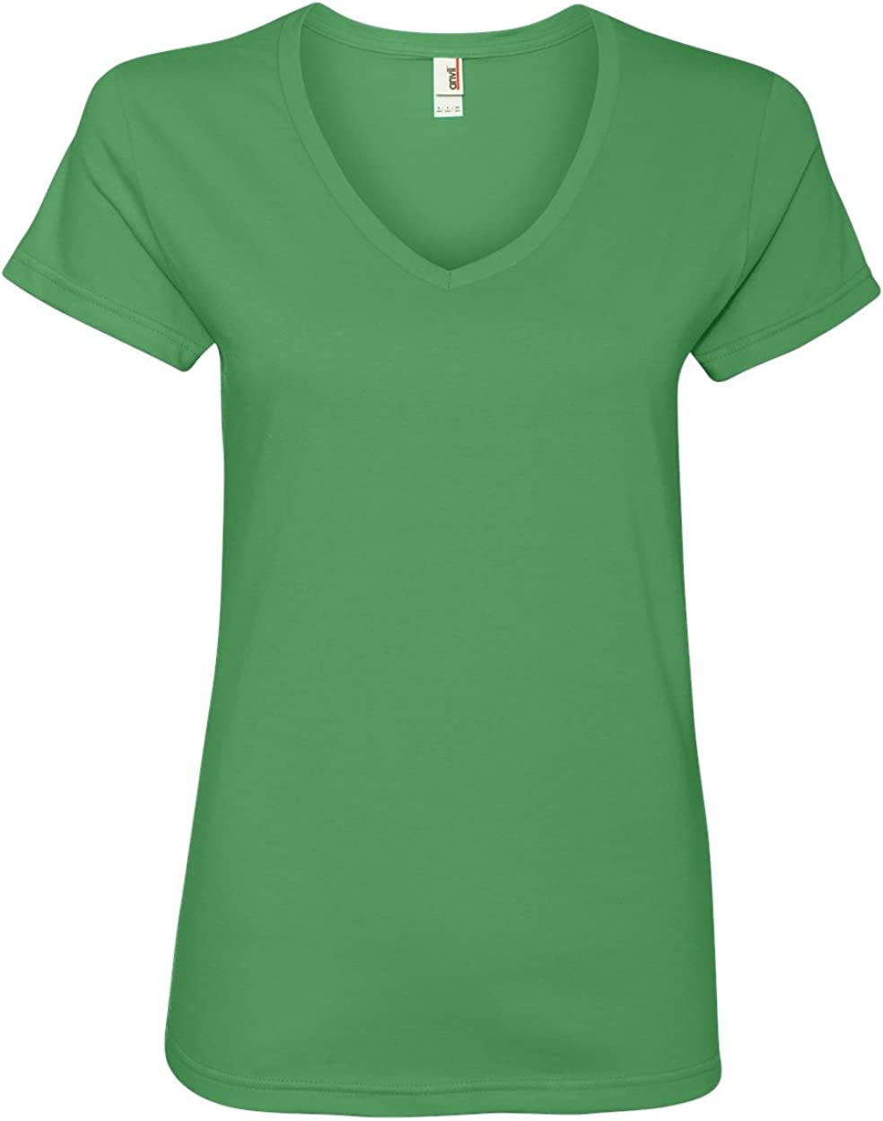 Anvil 88VL - Missy Fit Ringspun V-Neck T-Shirt