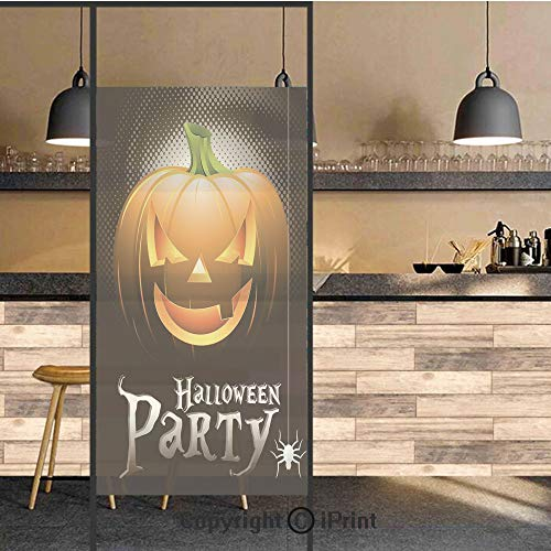3D Decorative Privacy Window Films,Halloween Party Theme Scary