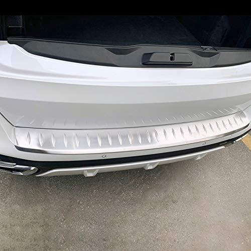 HIGH FLYING para X5 G05 2019 2020 Placa protector de entrada maletero Plata Acero Inoxidable 1 pieza