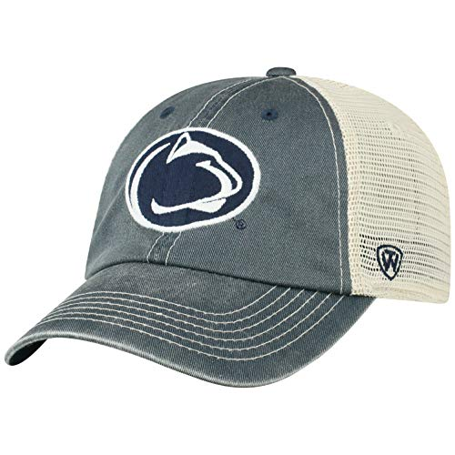 Top of the World Penn State Nittany Lions Men's Vintage Hat Icon, Navy, Adjustable (Hats Penn State)