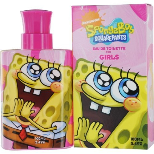 Nickelodeon Spongebob Squarepants Eau De Toilette Spray for Women, 3.4 Ounce ()