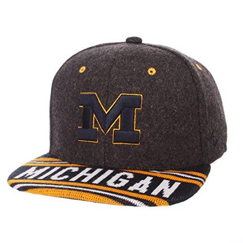 2ebe6bf4 Michigan Wolverines Snapback Hats. ZHATS NCAA Michigan Wolverines Men's ...