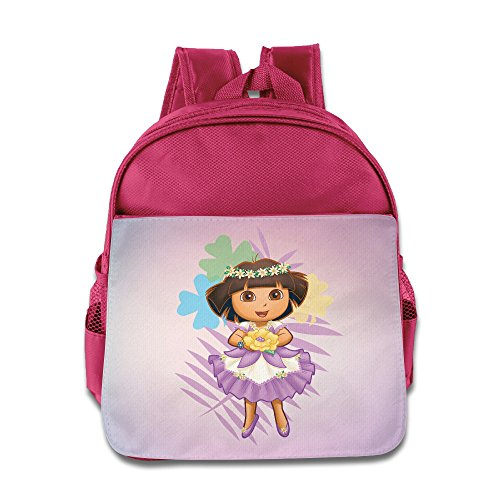 [Dora The Explorer5 Design Boy Girl Kid School Backpack Comfortable] (Boots And Swiper Costumes)