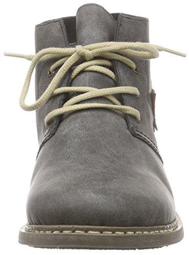 RiekerZ4132 - botas de caño bajo Mujer Gris - Grau (anthrazit/mogano / 45)