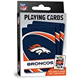 "MasterPieces NFL Denver Broncos Playing Cards,Orange,4"" X 0.75"" X 2.625"""