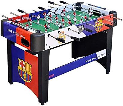ZHRLQ Mesa de fútbol Sala, Mesa de Juego estándar de 8 Bares para niños Adultos: Amazon.es: Hogar