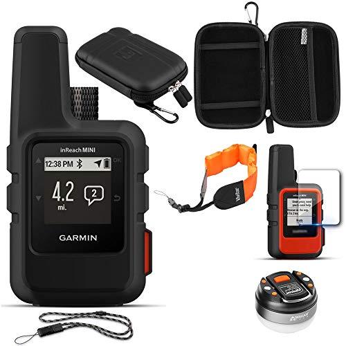 Garmin inReach Mini GPS (Black) with Acessories Bundle (Best Dslr For Sports 2019)