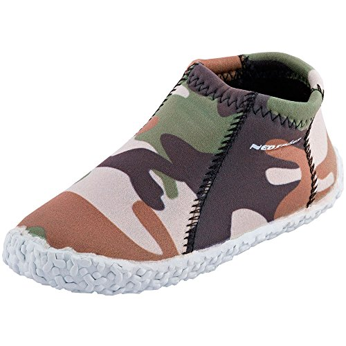 - NeoSport Kid's Water & Deck Shoes, Camouflage, Size 10