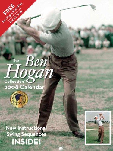 amazon com the ben hogan collection 2008 calendar new