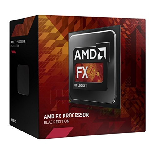 AMD FX-8370 Black Edition 8 Core CPU Processor AM3+ 4300Mhz 125W 16MB FD8370FRHKBOX (Amd Fx 8300 Vs Amd Fx 8350)