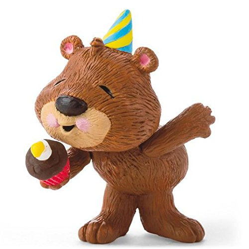 (Hallmark Merry Miniatures Birthday Bear Figurine)