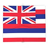 Society6 The State Flag Of Hawaii - Authentic Version 88'' x 104'' Blanket