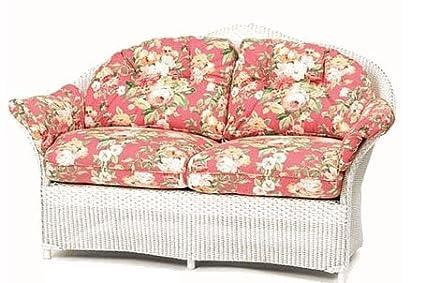 Amazon Com Lloyd Flanders Keepsakes Loveseat Replacement Cushions