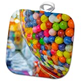 3dRose Danita Delimont - Food - A gumball machine in a sweet shop. - 8x8 Potholder (phl_279720_1)