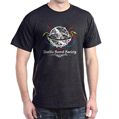 CafePress Buchla Secret Society 100% Cotton T-Shirt Charcoal