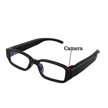 Flylink - Gafas con cámara oculta HD, 720p, grabador de video digital, grabadora de sonido, 5 Mpx: Amazon.es: Deportes y aire libre