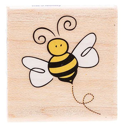 Little Bumblebee Rubber Stamp New by: CC