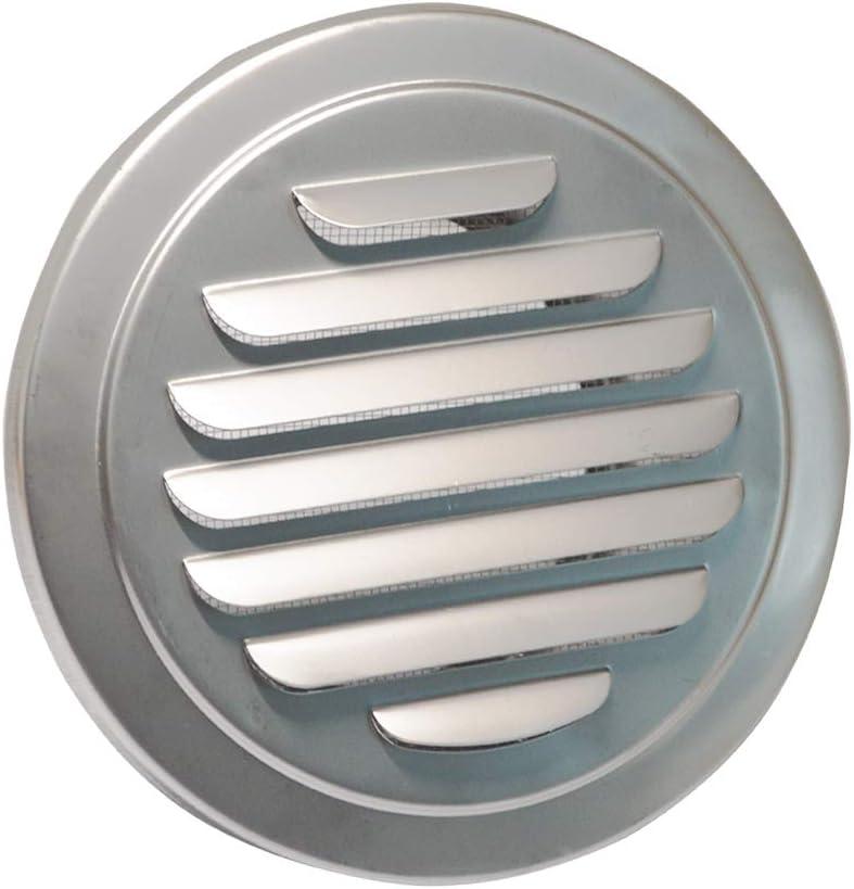 MAGT place en acier inoxydable Grille Air Vent Cover Wall Air Duct Ventilation Grill S/èche-linge Hotte aspirante Sortie for salle de bains Flanc Cuisine Air Vent
