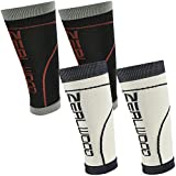 ZEALWOOD Calf Compression Sleeve, Leg Compression Socks for Compression Tennis Shorts,Calf Guard,Compression Travel Socks,Gym Training Sleeve