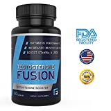 Fitness Fusion Voted Best Testosterone Booster Supplement for Men - Increase Muscle Growth, Sex Drive, Stamina & Energy Levels (60 Capsules)