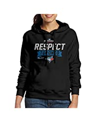 Women's Toronto Blue Jays 2016 Division Series Clincher Respect Hoodie