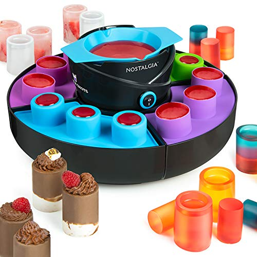 (Nostalgia SM12 Edible Shot and Cup Maker Black)