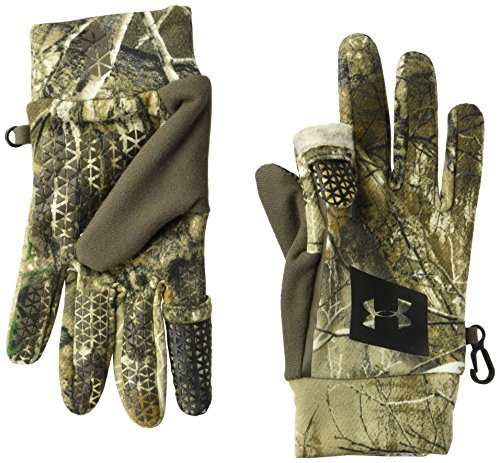 Under Armour Men's Early Fleece Gloves, Real Tree Edge (991)/Black, Large