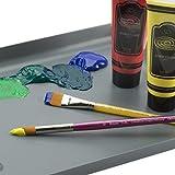 Creative Inspirations Dura-HandleArtist Paint Brush Short Solid Resin Handle Resists Chips & Cracks -Asst