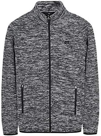 メンズ ジャケット スタンドカラー ジップアップ ニットカーディガン アウター おしゃれ ジップアップパーカー 4色 大きいサイズ