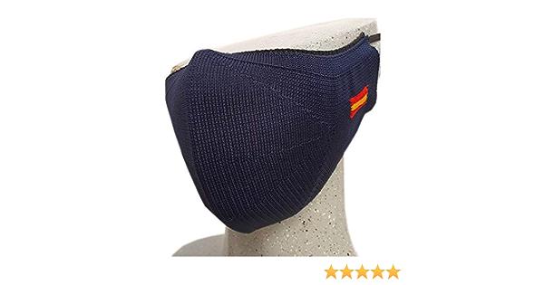 FTX Pack Pulsera Virgen del Pilar. Policía Nacional y cubrecara Azul marino con Bandera de España. Talla Adulto.: Amazon.es: Ropa y accesorios