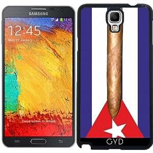 Funda para Samsung Galaxy Note 3 Neo/Lite (N7505) - Bandera De Cuba Cigarro by hera56