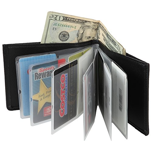 home-x-leather-look-rfid-bifold-wallet-for-men-or-women