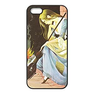 Happy Cinderella Case Cover For iPhone 5S Case