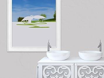 Schön Graz Design 980159_90x57 Sichtschutzfolie Fenstertattoo Fensteraufkleber Deko  Fr Badezimmer Wal Walflosse Wasser (Greu003d90x57cm