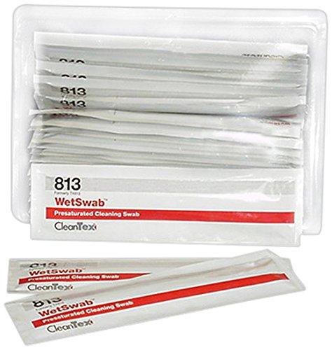 Sealed Foam Swabs (CleanTex WetSwab Large Pre-Moistened Foam Swabs, Box of 25 Swabs (CT813))