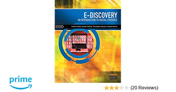E discovery an introduction to digital evidence with dvd e discovery an introduction to digital evidence with dvd 9781111310646 computer science books amazon fandeluxe Choice Image